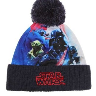 Star Wars-The Clone Wars Gebreide muts marineblauw maat 54