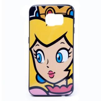 Princess Peach Samsung S6 Cover