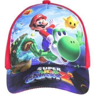 "Super Mario Galaxy 2 Cap rood ""maat 52"""