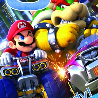 "Mariokart 8 ""8 today Always Ready! verjaardagskaart"""
