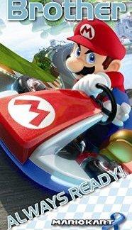 """Mariokart 8 """"Brother"""" always ready verjaardagskaart"""