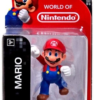 "Super Mario figuurtje 6cm ""world of Nintendo"""