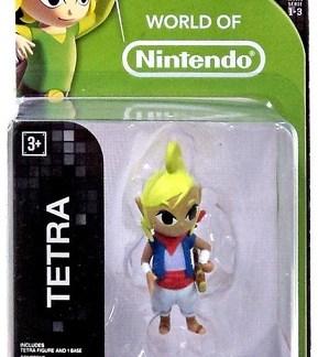 """Tetra Legend of Zelda figuurtje 6cm """"world of Nintendo"""""""