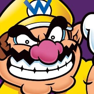 """Super Mario Canvas Print """"Wario"""""""