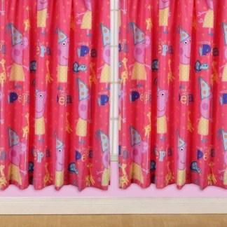 Peppa Funfair Gordijnen 168 x 137cm