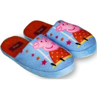 Peppa Pantoffels Blauw