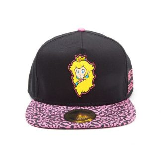 NINTENDO - PRINCESS PEACH RUBBER PATCH SNAPBACK