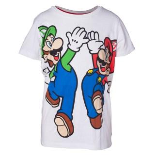 Super Mario en Luigi Boy's T-shirt
