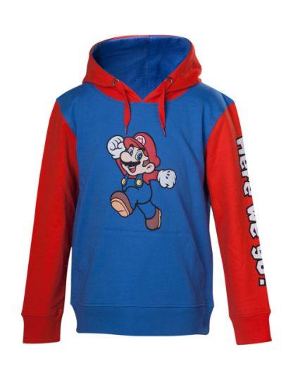 Super mario her we go hoodie