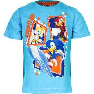 "Sonic shirt 'licht blauw"""
