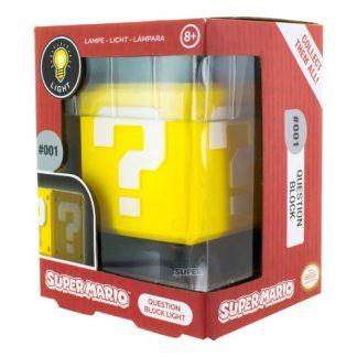 Super Mario quistionblock 3D lamp