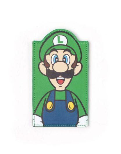 SUPER MARIO - LUIGI SHAPED CARD WALLET