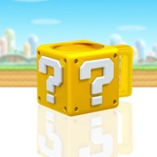 Super Mario - Question Block - Beker