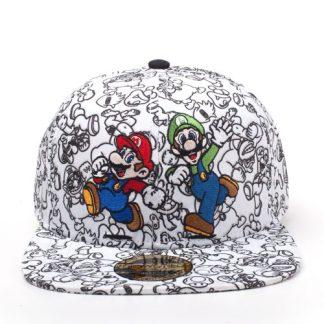 Super Mario & Luigi Screen Print 2D Embroidery Snapback