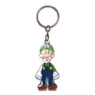 Super Mario - Luigi bewegende metalen sleutelhanger