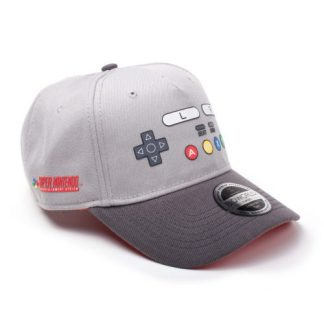 NINTENDO – SNES BUTTONS CURVED BILL CAP