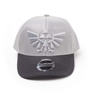 ZELDA - REFLECTERENDE CROWN CURVED BILL CAP