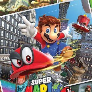 Super Mario - Super Mario Odyssey Collage - Maxi Poster