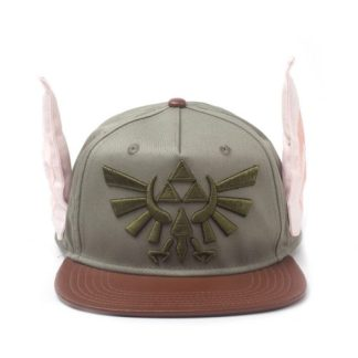 ZELDA - NOVELTY EARS GREEN SNAPBACK - CAP