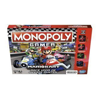 Super Mario - Monopoly Gamer Mariokart race voor de meeste punten!