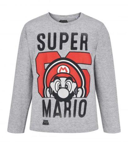Super Mario - Super Mario T-shirt Face lange mouw