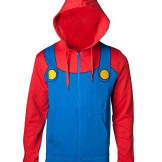 Mario Kersttrui.Super Mario Hoodie Vet Cool Shops