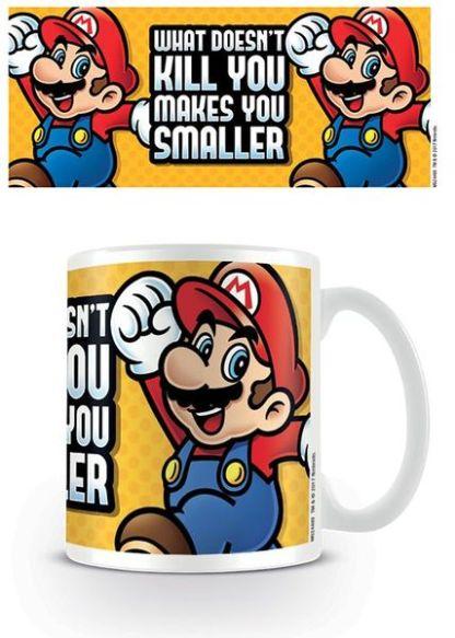 Nintendo - Super Mario Makes You Smaller - Beker