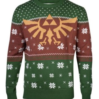 ZELDA - GOLDEN CHRISTMAS IN HYRULE GEBREIDE TRUI -SWEATER