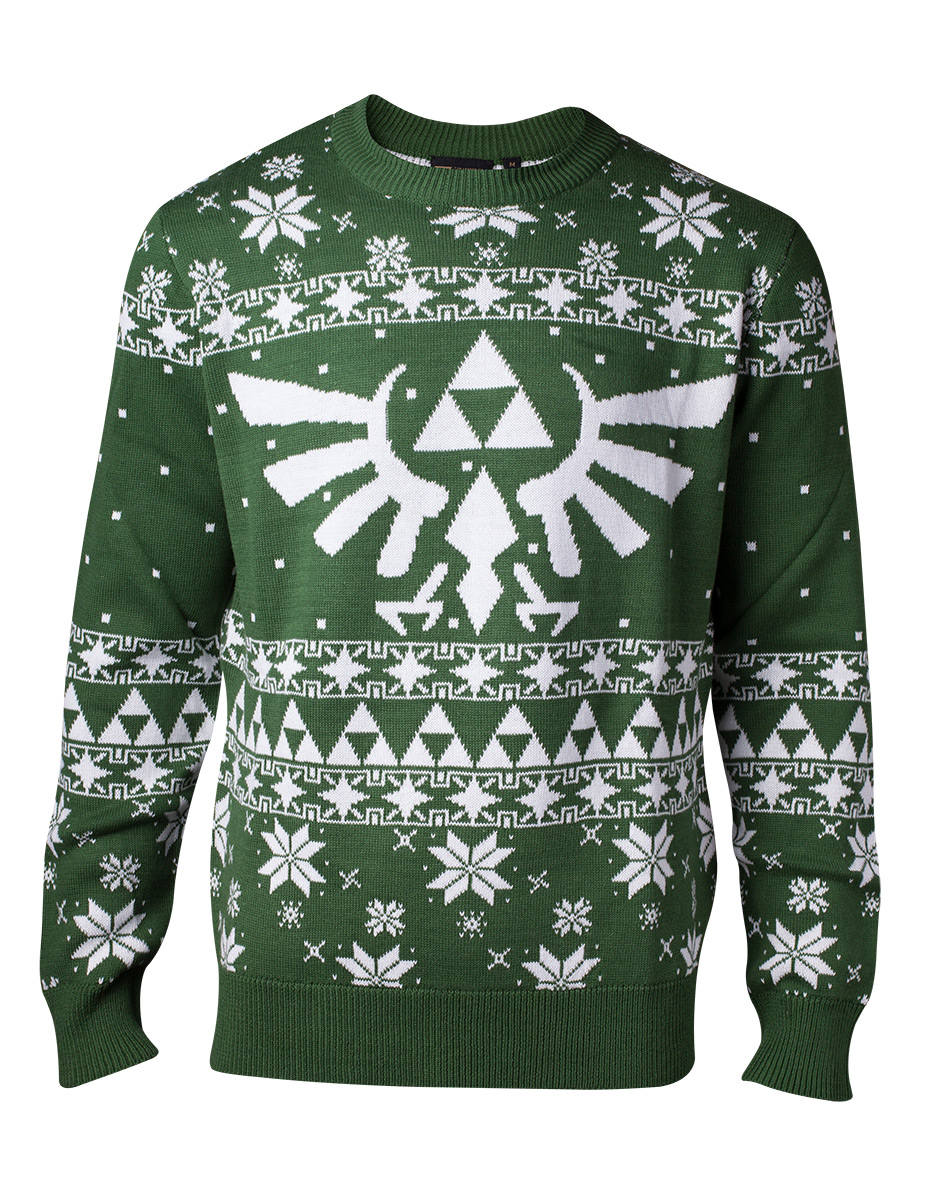 Groene Trui Heren.Legend Of Zelda Gebreide Groene Kerst Trui Zelda Heren