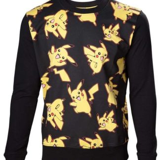POKÉMON - PIKACHU ALL OVER SWEATER - TRUI