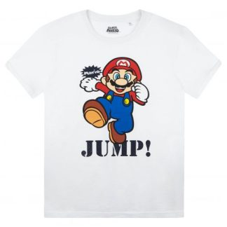 Nintendo - Super Mario T-shirt Kids Jump wit
