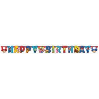Super Mario slinger Happy Birthday