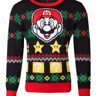 Super Mario kersttrui