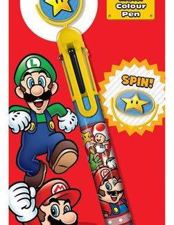 Nintendo - Super Mario Star Pen met diverse kleuren