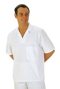 PORTWEST Tunique médicale blanche Mixte – – L – Blanc