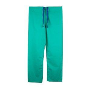 Pantalon medical unisexe reversible (3XL, Vert)