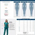 Adar Universal Veste Infirmière – Blouse Chaude à Col Rond – 602 – White – S