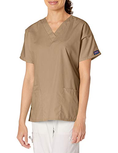 Cherokee 4700 Chemise médicale unisexe à 2 poches – Beige – Large