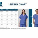 Adar Universal Blouse Médicale Unisexe – Tunique Classique 99cm – 803 – Silver Gray – 44