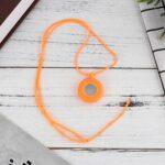 NICERIO Infirmière Montre – Collier Montre Corde Mini Quartz Montre Pendaison Montre Silicone Quartz Montre Médecin Médecin Revers Montre avec Seconde Main pour Infirmières