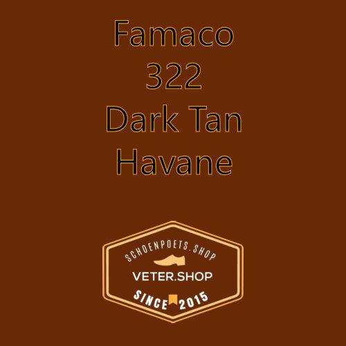 Famaco leer onderhoud Kleur 322 Havane