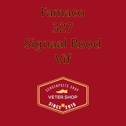 Famaco leer onderhoud Kleur 327 ferrari rood