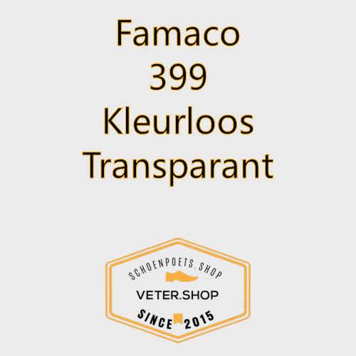 Famaco leer onderhoud Kleur 399 kleurloos