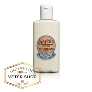 Saphir ledermelk voor glad leer 150ml fles