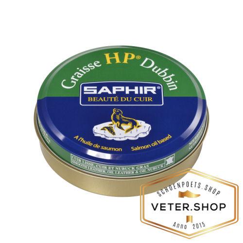Saphir HP Dubbin Graisse Leervet voor zacht glad en gevet leer