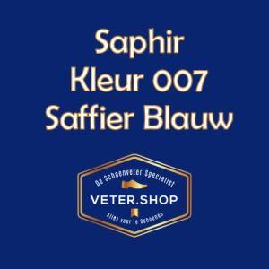 Saphir 007 saffier blauw
