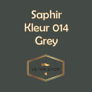 Saphir 014 Grijs