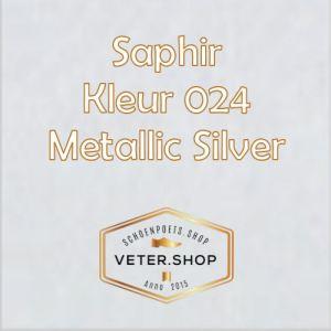 Saphir 024 zilver