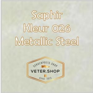 Saphir 026 metallic steel