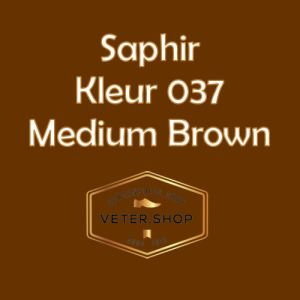 Saphir 037 Medium Bruin
